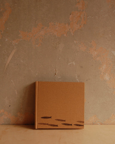 Hard cover hand made blank books