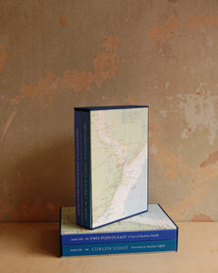 Slipcase set of Curlew Coast and Two Points East by Judith Ellis