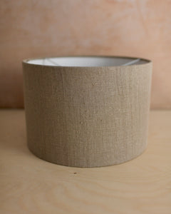 Natural Linen Lampshade 4