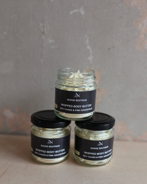 May Chang & Pink Grapefruit whipped body butter