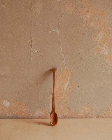 Hand carved beech spoon 2