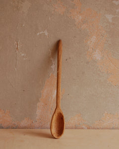 Hand carved beech spoon 3