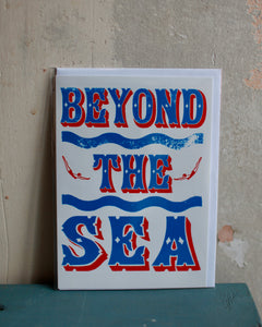 Beyond the Sea card