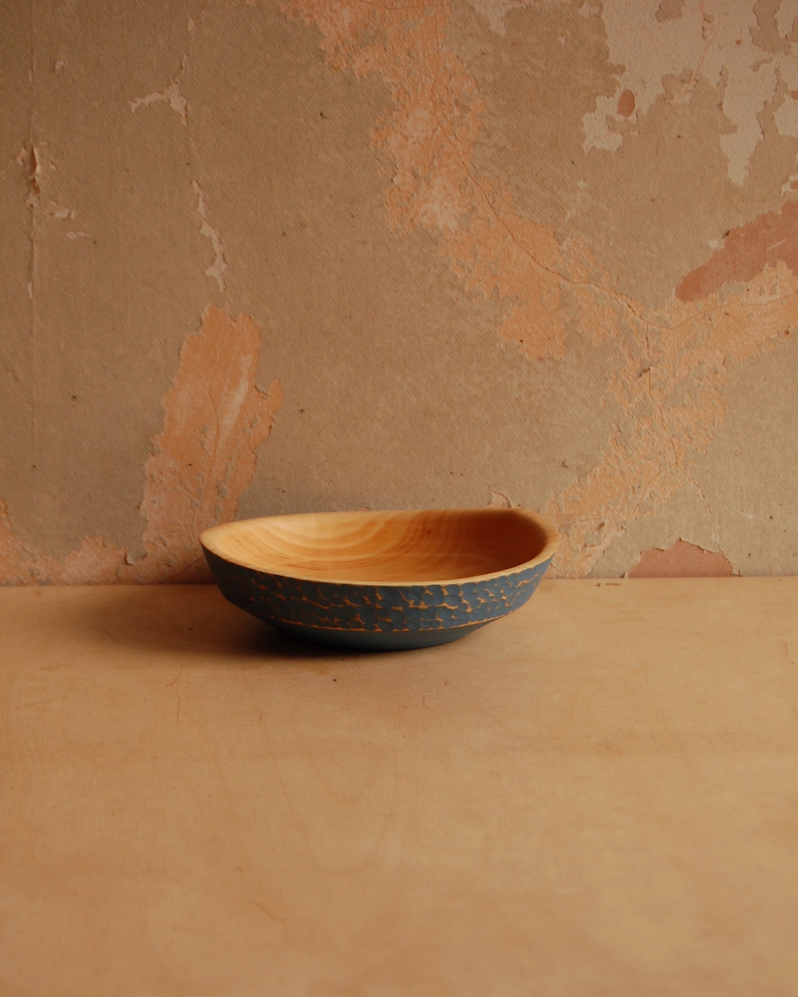 Painted Bowl 04 (blue)