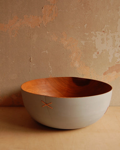 Repaired Thin Wall Bowl (grey)