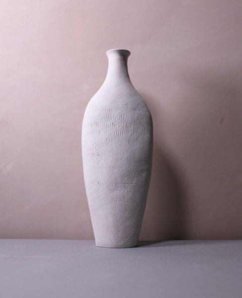 Tall Vessel - White