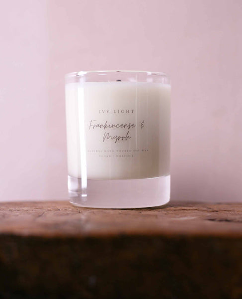 Lavender and Chamomile scented candle