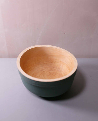 Painted Bowl (green)