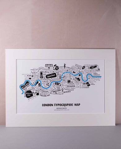 London type map