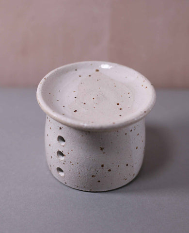 Speckled Stoneware Oil Burners