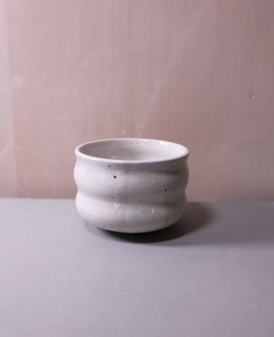 Speckled Stoneware Wobble Cups