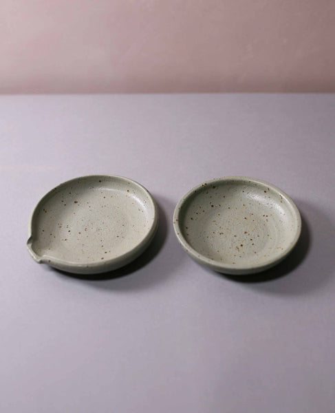 Spoon rest and bowl set