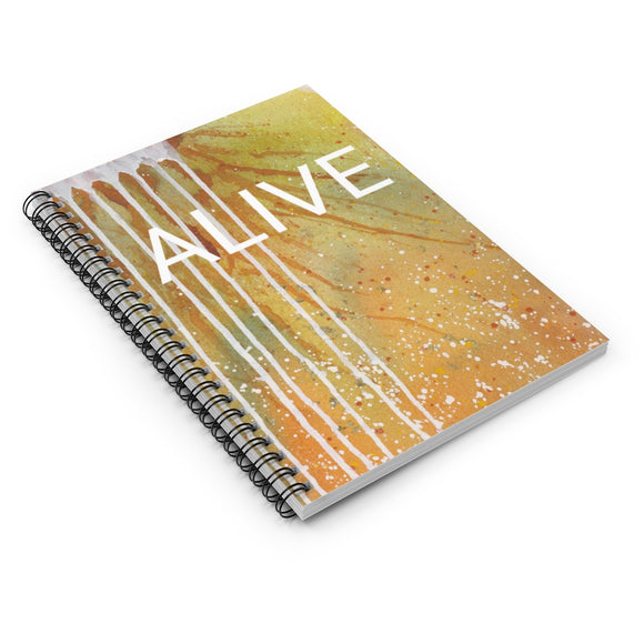 Spiral Notebook - ALIVE