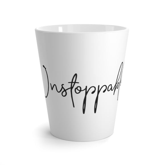 Latte mug White - Unstoppable