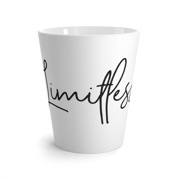 Latte mug White - Limitless