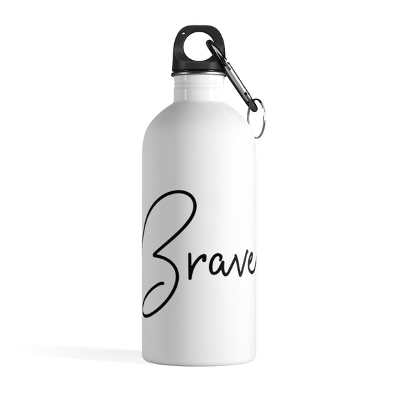 Stainless Steel Water Bottle - Brave