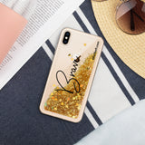 Liquid Glitter Phone Case - Brave