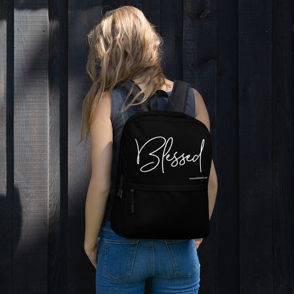 Backpack Black - Blessed