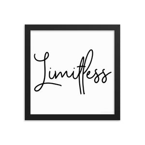 Framed Photo Paper Poster - Limitless