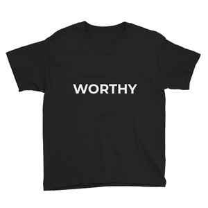 Youth Short Sleeve T-Shirt - WORTHY