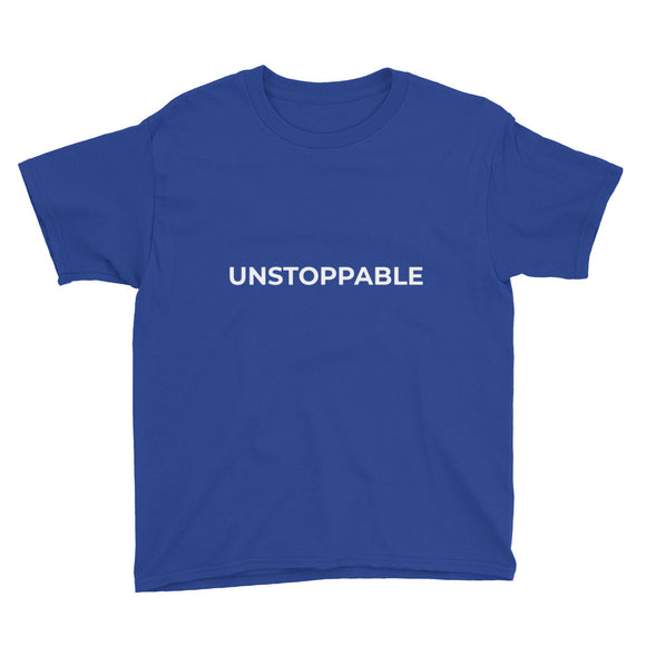 Youth Short Sleeve T-Shirt - UNSTOPPABLE