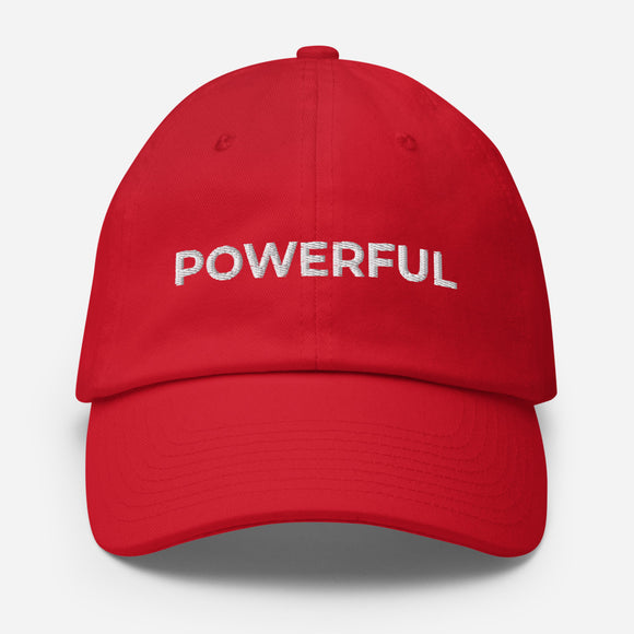 Cotton Cap - POWERFUL
