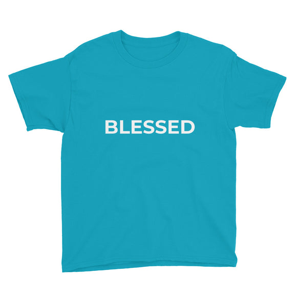 Youth Short Sleeve T-Shirt - BLESSED