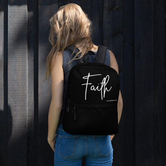 Backpack Black - Faith