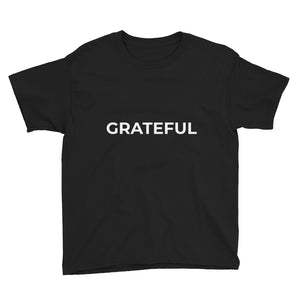 Youth Short Sleeve T-Shirt - GRATEFUL