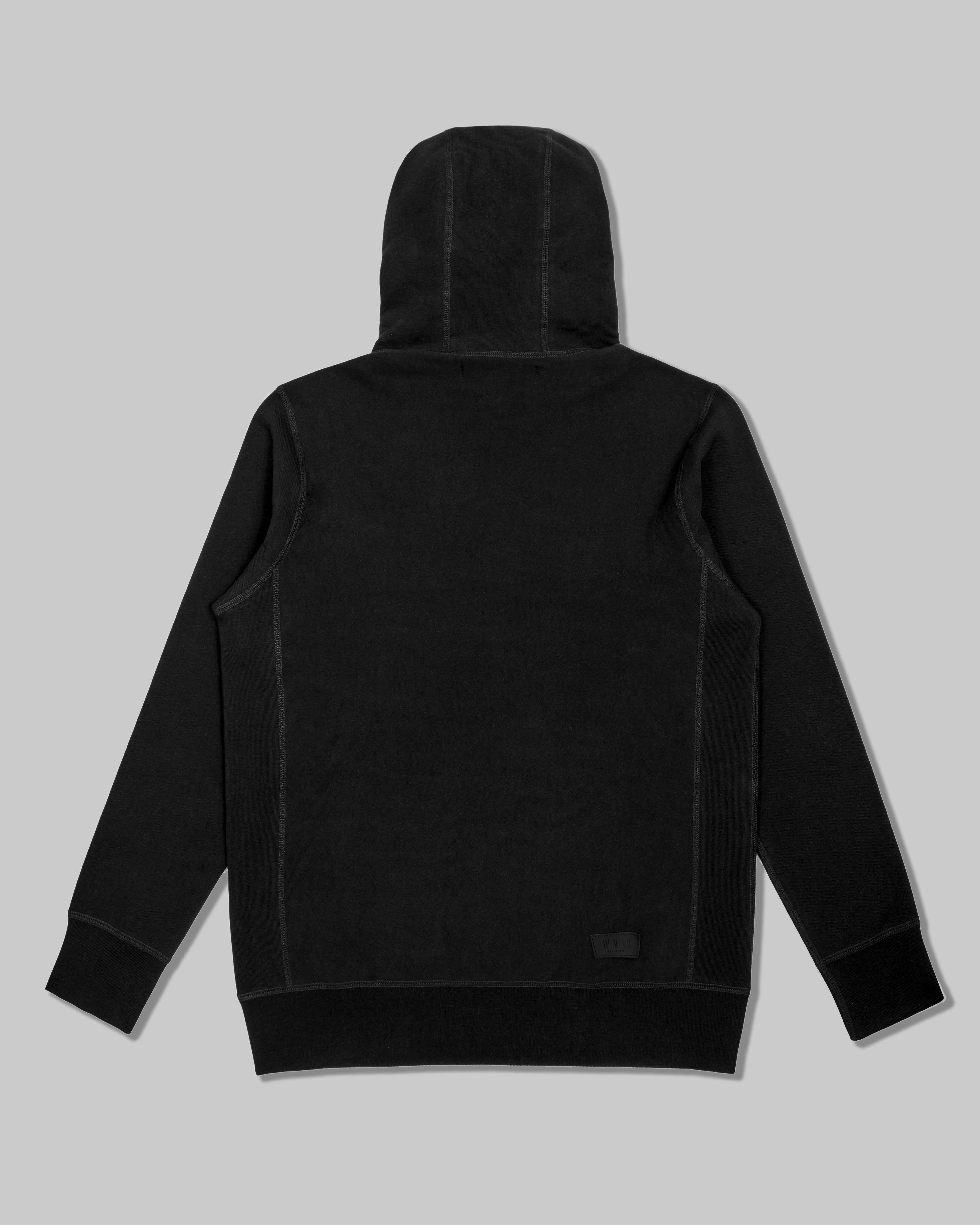 Hoodie in Heavyweight American Cotton