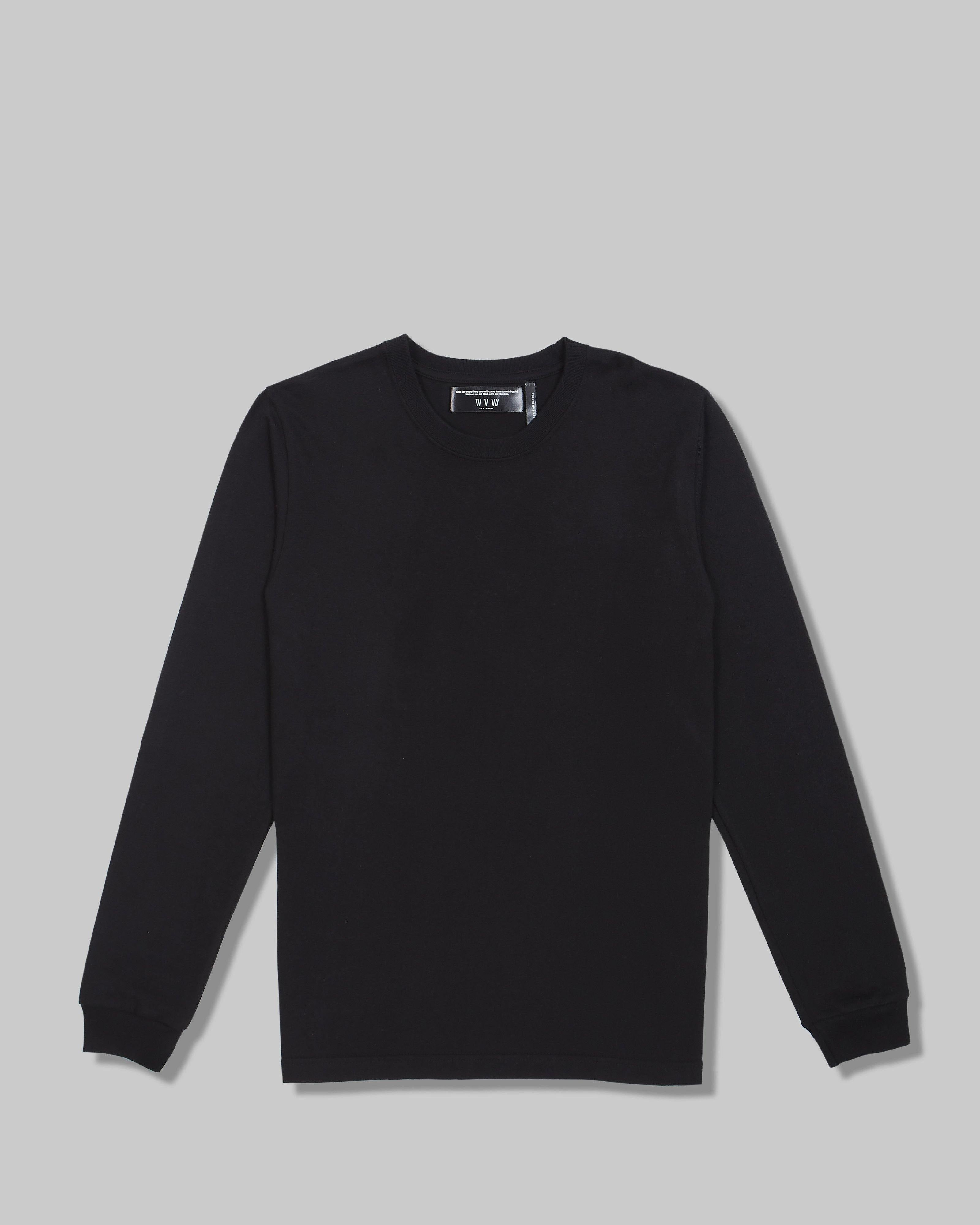Long Sleeve T in Heavyweight American Cotton