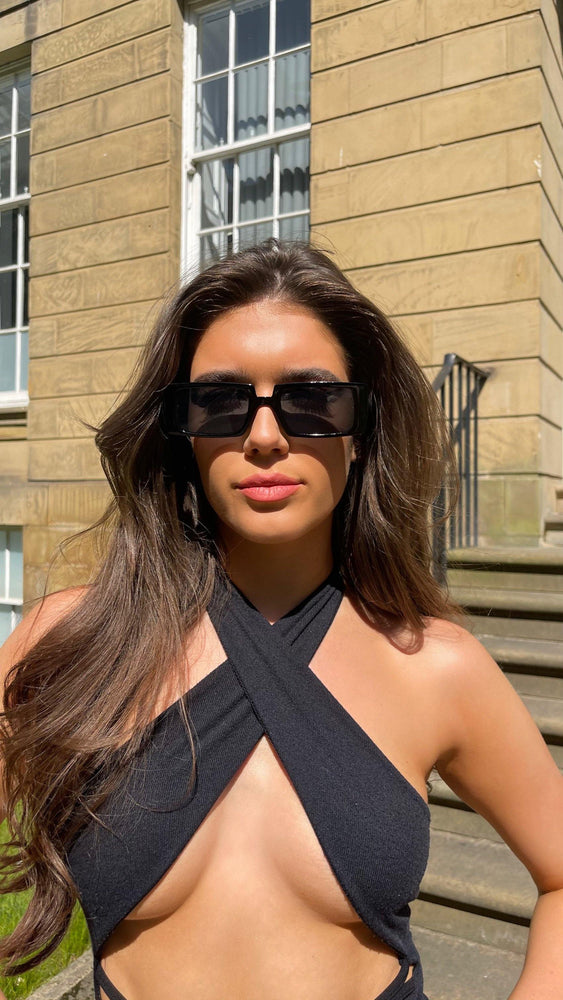 Norah Black Sunglasses
