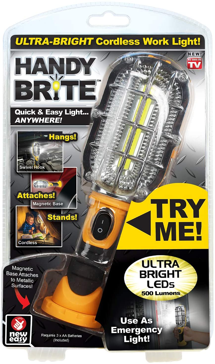 shopify-As Seen on TV Handy Brite Heavy Duty Cordless LED Light-1