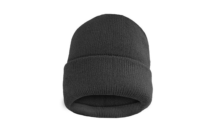 shopify-Fleece Lined Fold Over Thermal Winter Hat-2