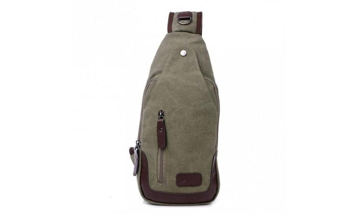 shopify-Canvas Shoulder Sling Bag- 5 Colors-3