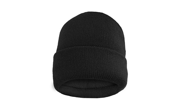 shopify-Fleece Lined Fold Over Thermal Winter Hat-3