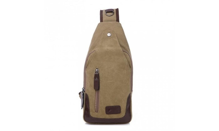shopify-Canvas Shoulder Sling Bag- 5 Colors-4