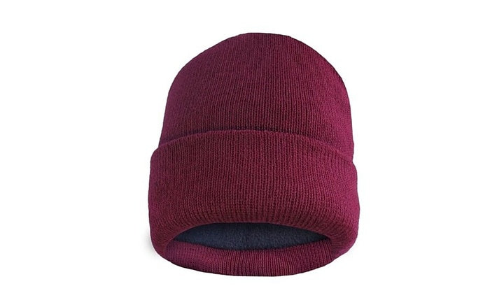 shopify-Fleece Lined Fold Over Thermal Winter Hat-4