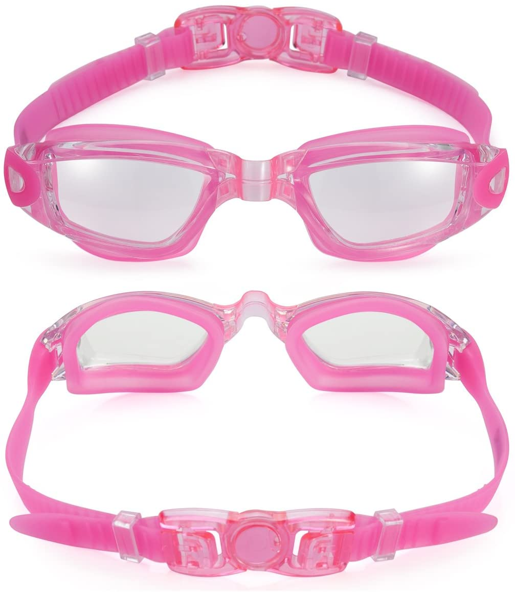 shopify-Anti-Fog Unisex Swim Goggles with Protective Case- 3 Colors-5