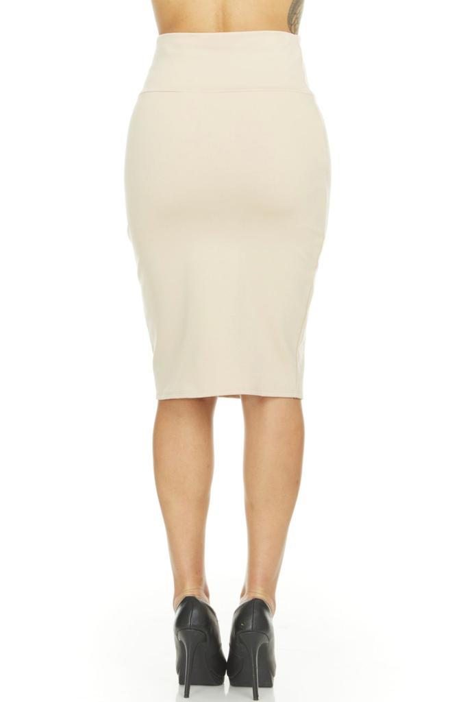 shopify-Fitted Pencil Skirt- 8 Colors-10