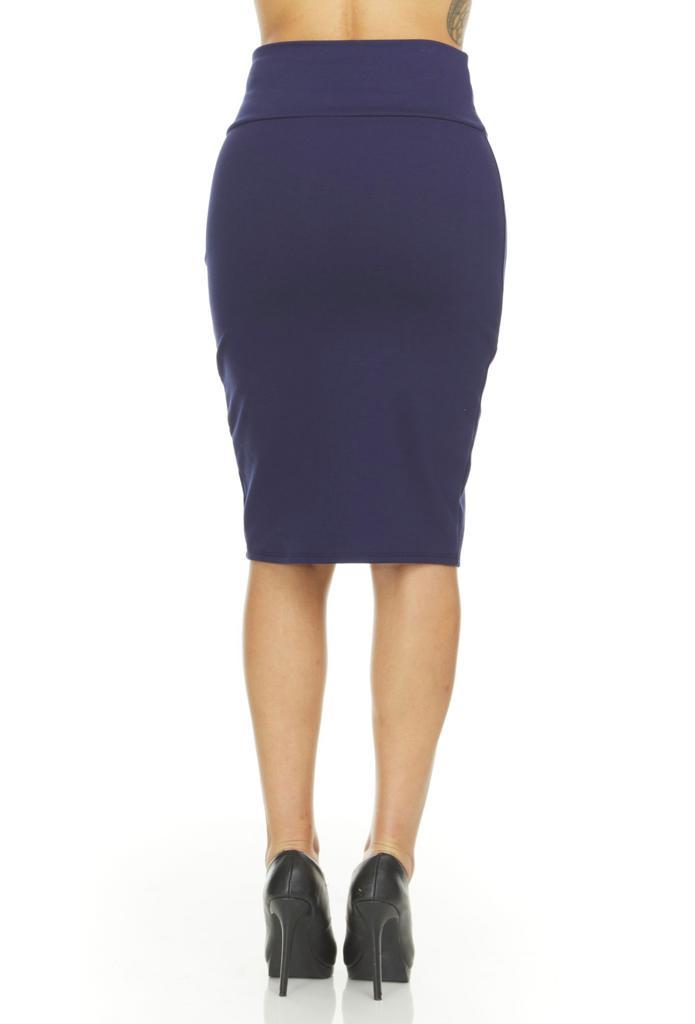 shopify-Fitted Pencil Skirt- 8 Colors-13