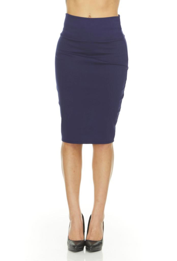 shopify-Fitted Pencil Skirt- 8 Colors-14