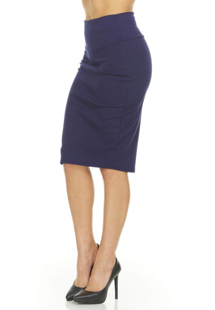 shopify-Fitted Pencil Skirt- 8 Colors-15