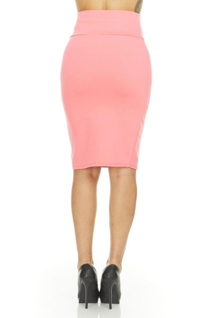 shopify-Fitted Pencil Skirt- 8 Colors-16