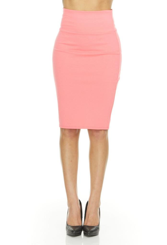 shopify-Fitted Pencil Skirt- 8 Colors-17