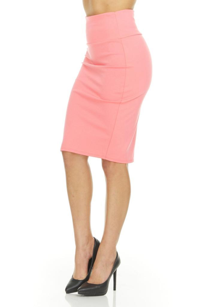 shopify-Fitted Pencil Skirt- 8 Colors-18