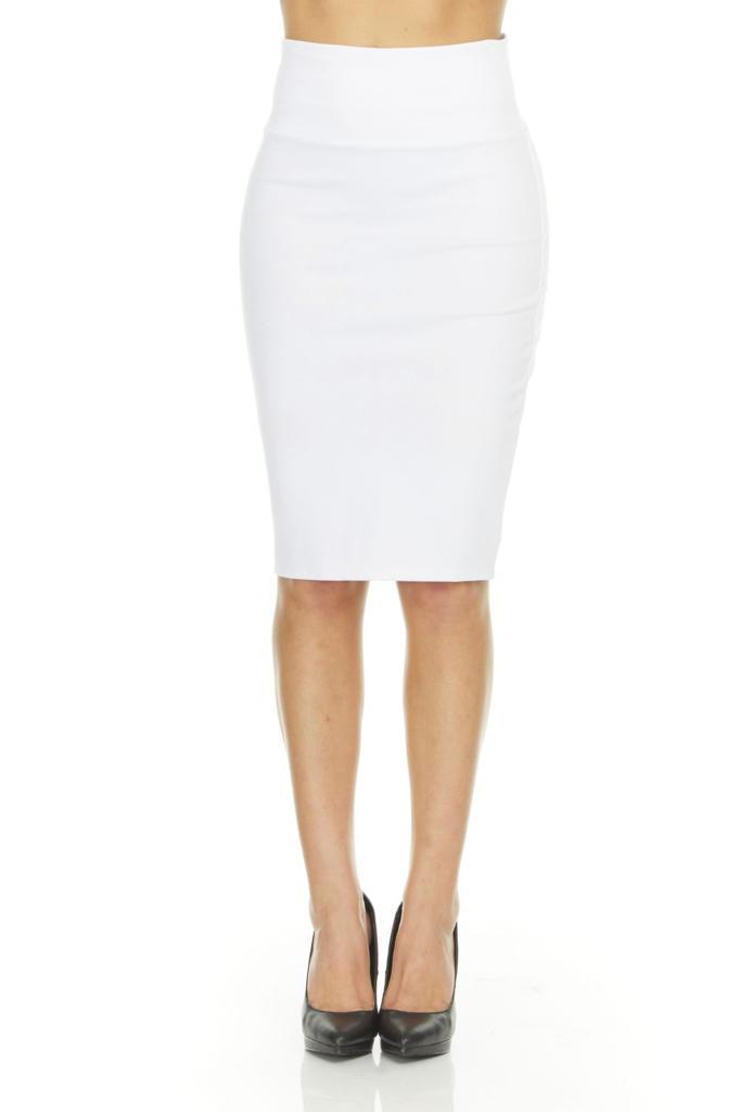 shopify-Fitted Pencil Skirt- 8 Colors-19