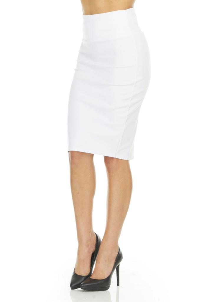 shopify-Fitted Pencil Skirt- 8 Colors-20