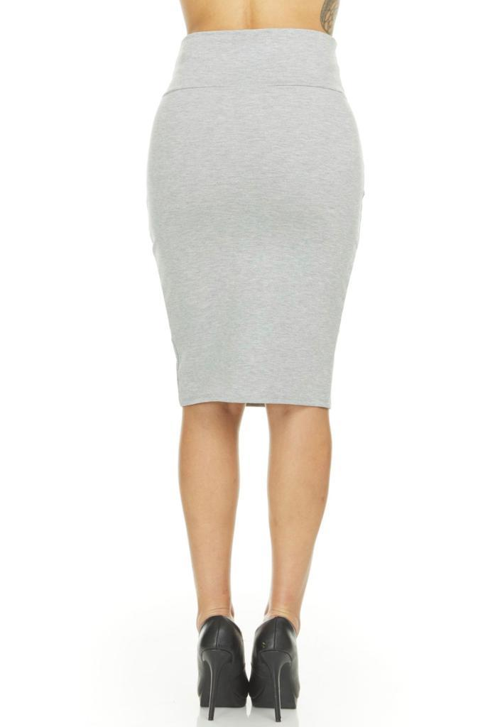 shopify-Fitted Pencil Skirt- 8 Colors-21