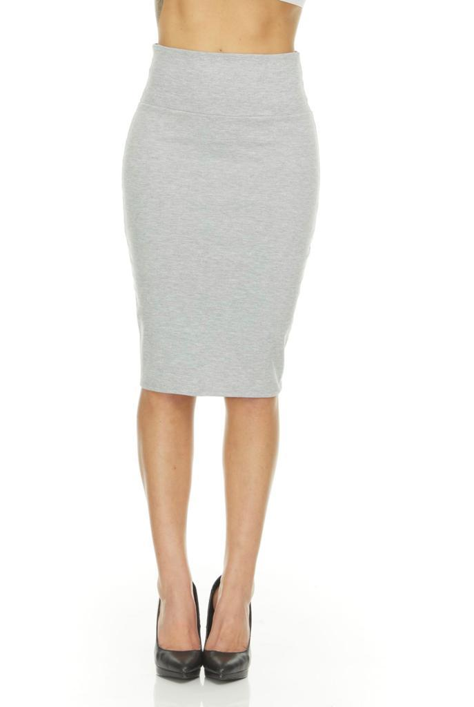 shopify-Fitted Pencil Skirt- 8 Colors-22